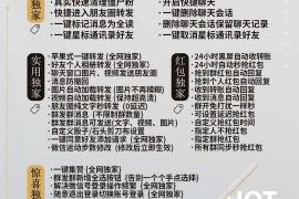 安卓梦想微商荣耀版6.6.3版本安卓多开微信无需预览直接一键转发自定义骰子