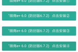 苹果微商e+6.0/e+7.0/e+8.0微信一键转发防封版多开分身6.5.10版本微信全球定位