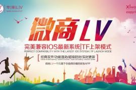 微商LV微信朋友圈一健转发朋友圈跟随转发本地30秒视频上传多种群发功能苹果小蜜