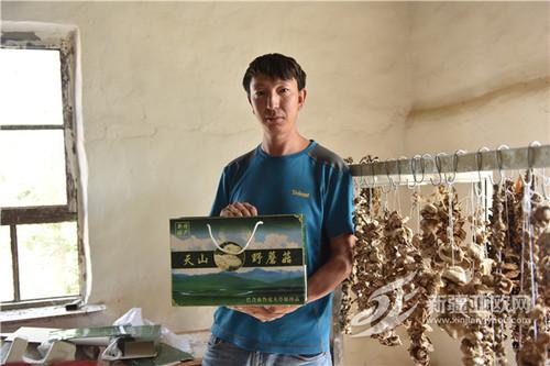 和静县:天山野蘑菇微商火爆让牧民腰包鼓起来